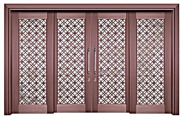 佛山玻璃铜门