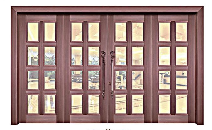 惠州玻璃铜门
