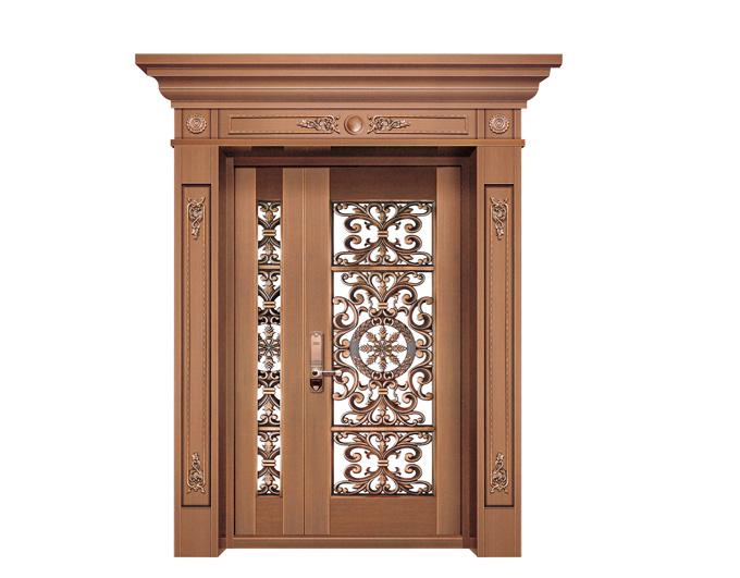 东莞玻璃铜门