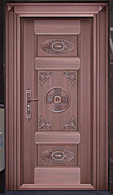 广东单开铜门