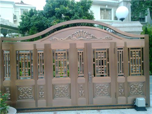 广东铜门工程案例