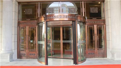 佛山工程铜门案例