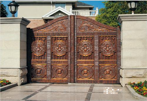 工程铜门案例