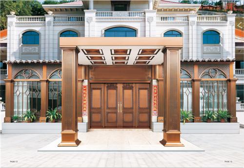 广州铜门工程案例